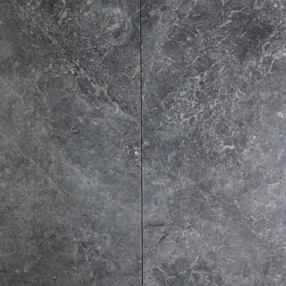 12 X 24 Tile Dark Grey Marble Polished Marble Polishing Grey