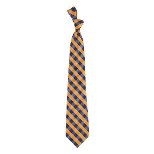 Oklahoma State Check Poly Necktie