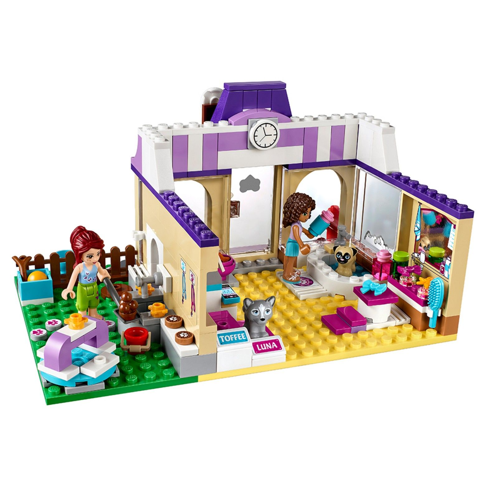 Look After Playful Pups With Andrea And Mia At Lego Friends