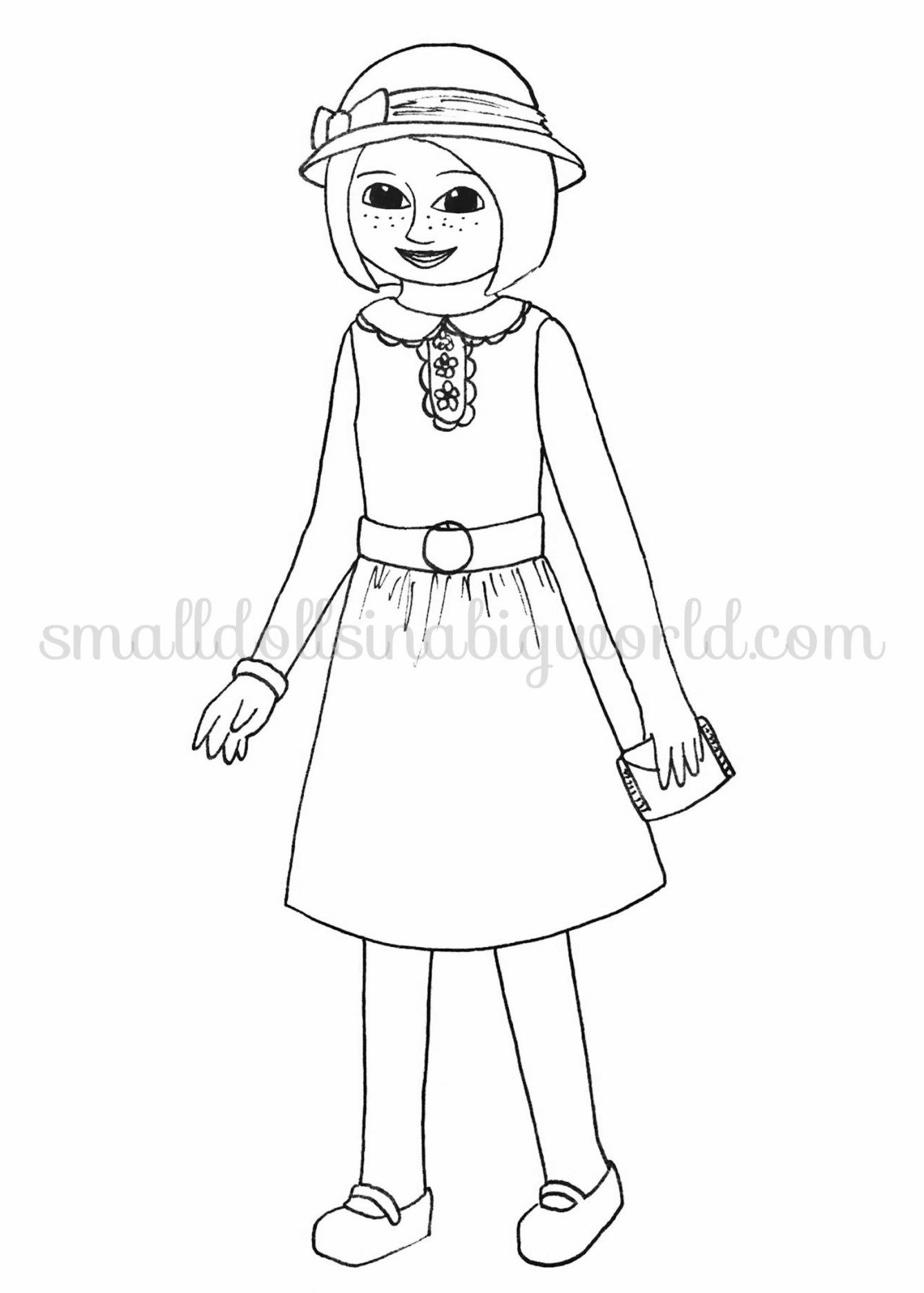 American Girl Coloring Pages Kit Collection American Girl Doll Coloring Pages Girl Dolls