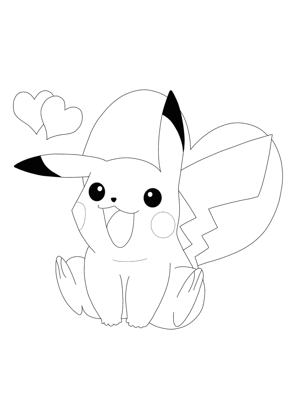 Cute Pikachu Coloring Pages 2 Free Coloring Sheets 2020 Pikachu Coloring Page Pokemon Coloring Pages Coloring Pages