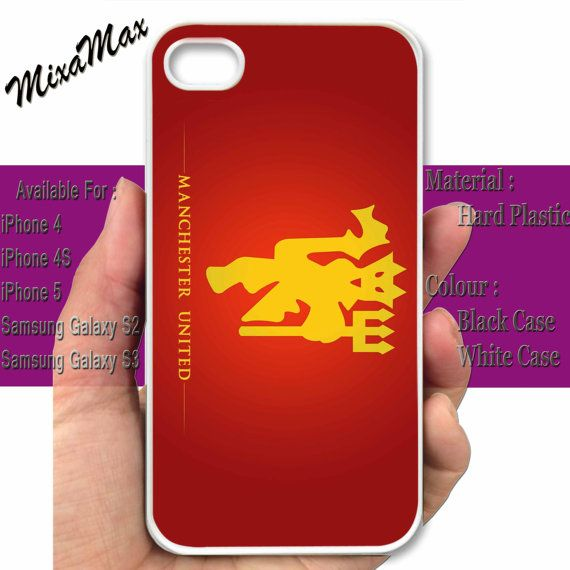 Manchester United Case iPhone Red Devils  iPhone by MixaMax, $14.99
