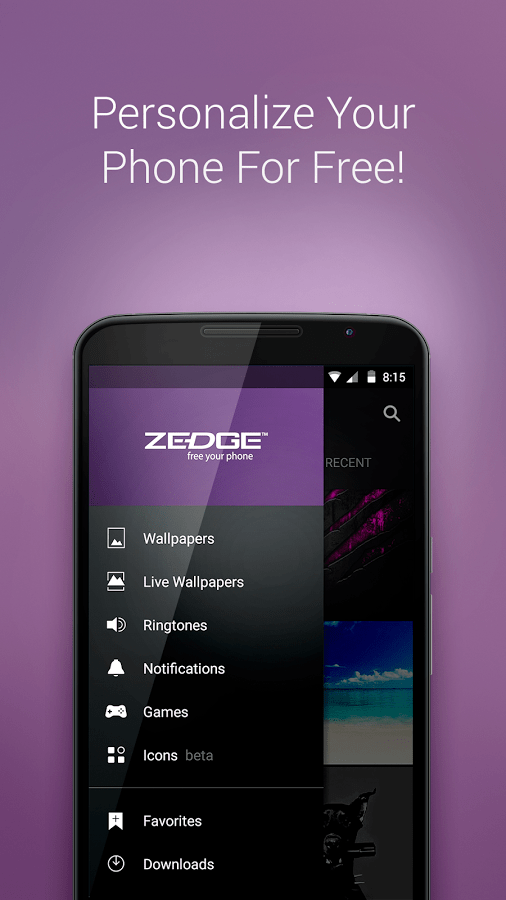 ZEDGE Ringtones & Wallpapers v5.40.3 Final (Ad Free