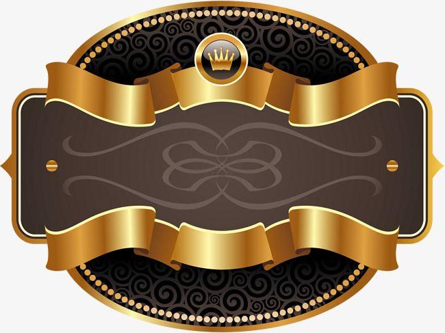 Golden Ribbon Label Golden Ribbon Label Png Image Ribbon Clipart Clip Art Ribbon Png