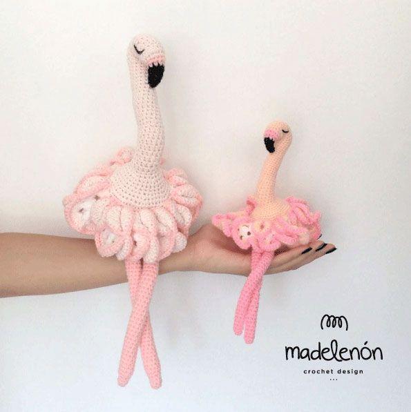 Maia Flamingo Amigurumi Pattern By Madelenon Flamingo Amigurumi