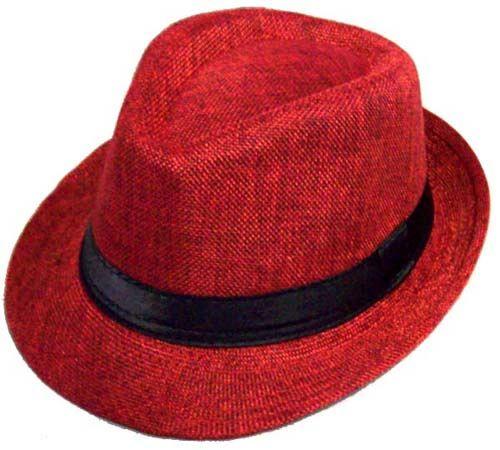 Red Fedora Hat, Fedora Hat, Business