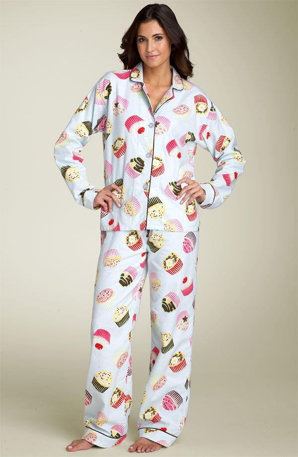 Flannel Cupcake Pajamas | Kate smith, Larger and Cup cakes