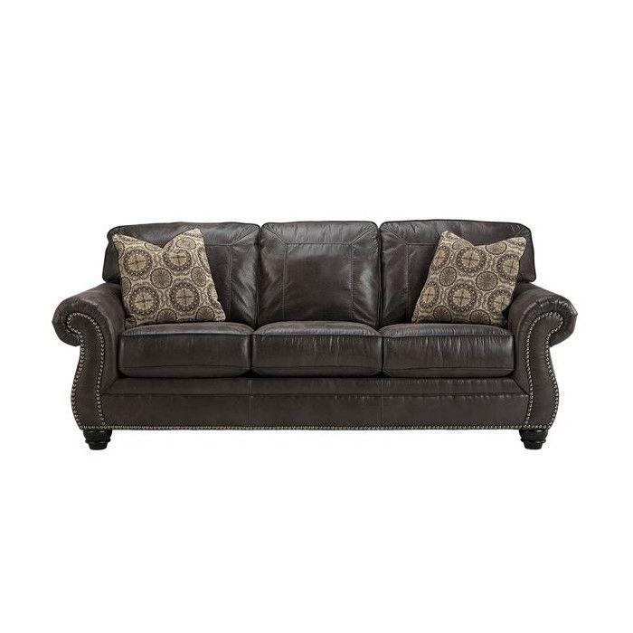 Conesville Sofa Home Sweet Home Faux Leather Sofa Charcoal Sofa