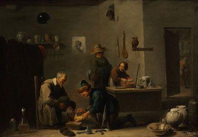 David Teniers II - Le Chirurgien 1636