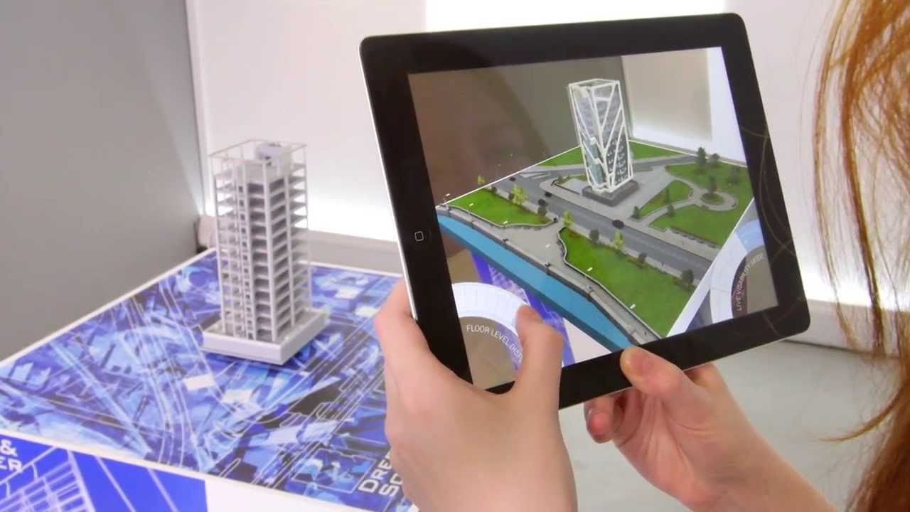 Augmented reality technology that adds virtual realism to for Augmented reality