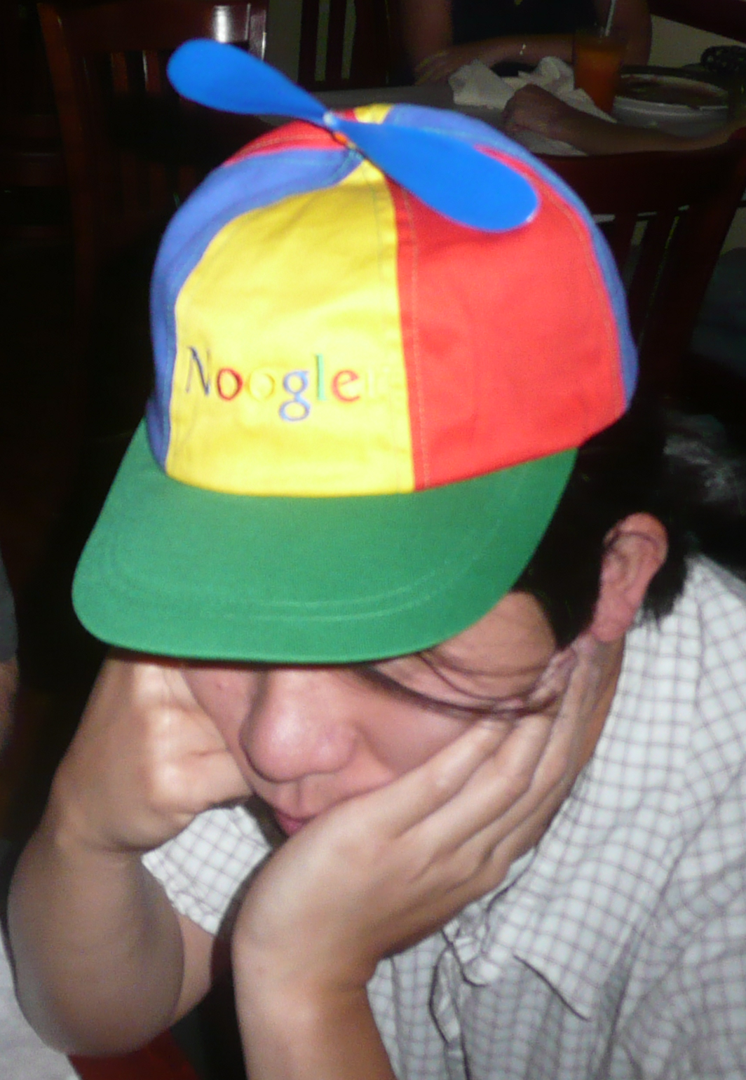 e12cabc6e3d  Beanie   Noogler propeller  hat New  Google employees are called   nooglers  and are given a propeller beanie  cap to wear on their first  Friday or TGIF ...