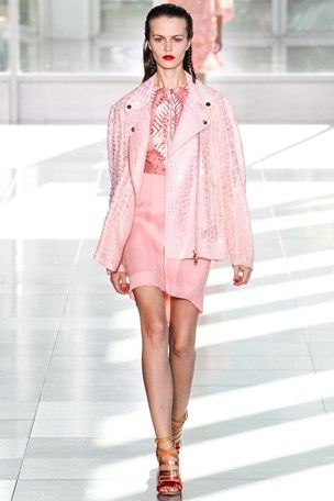 Antonio-Berardi  Spring 2014 pink