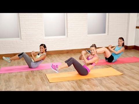 Bauch Beine Po Training für Zuhause - 20 Min Workout für Anfänger - Ohne Springen - Knieprobleme