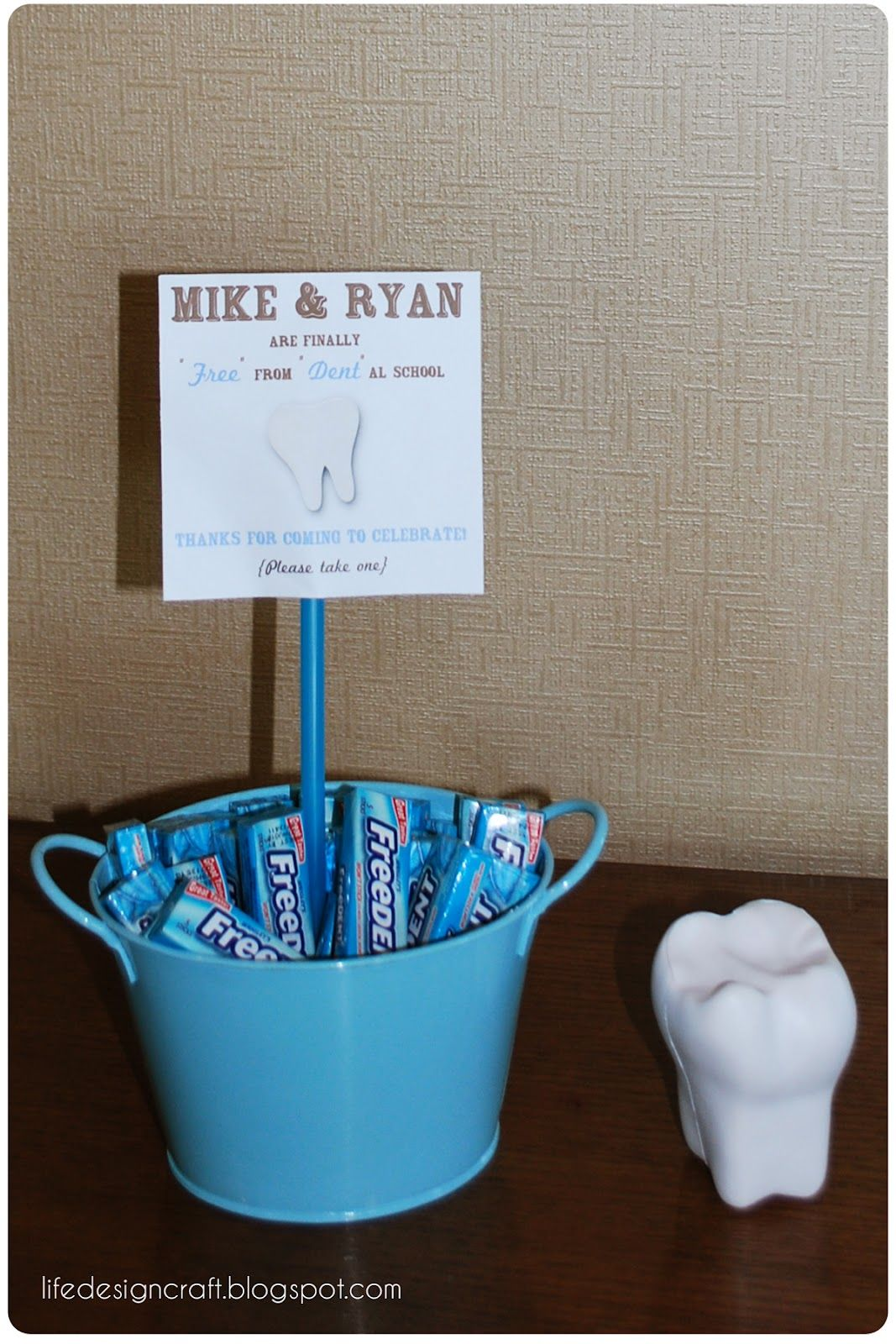 dental school graduation open house/party details | life. design
