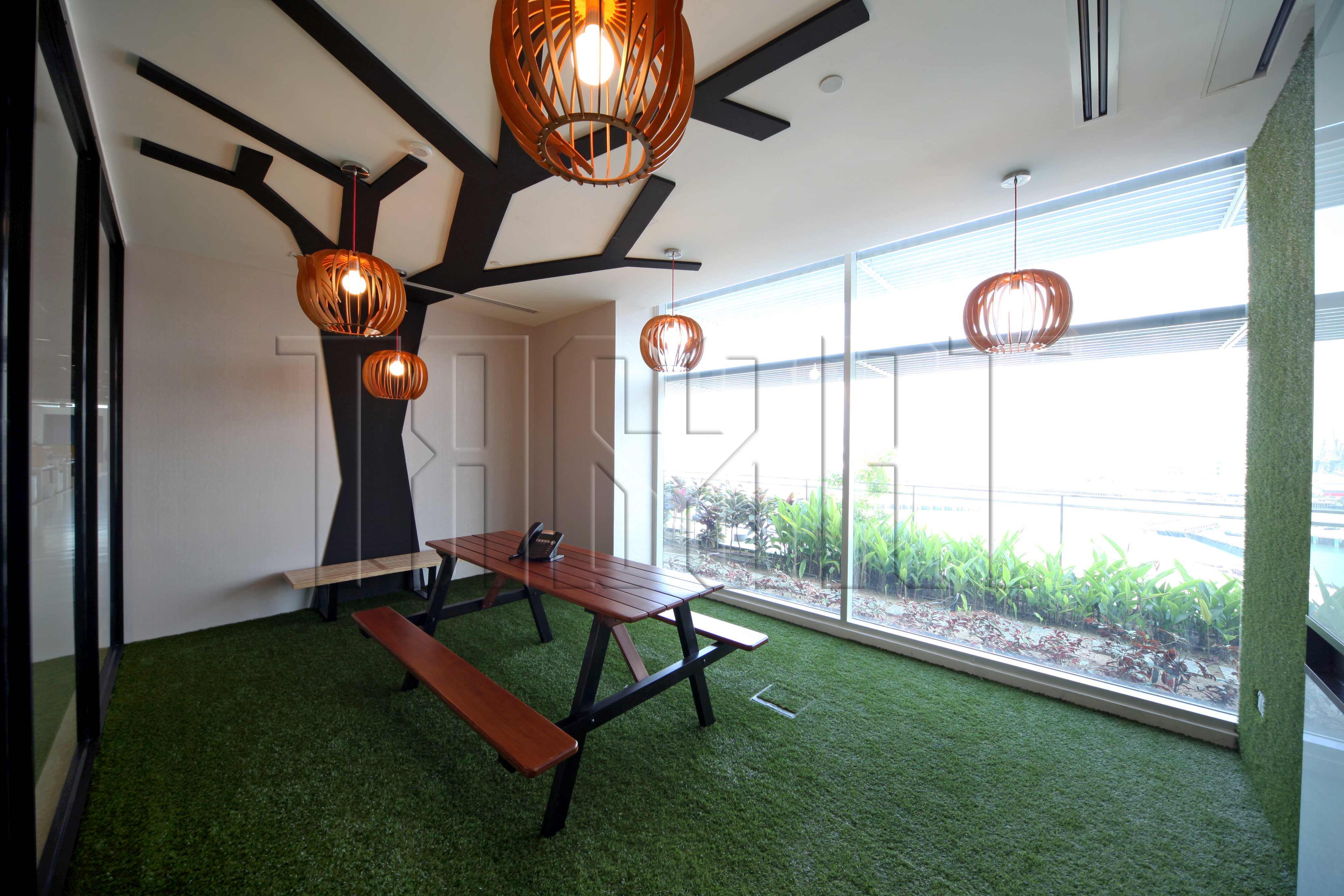 garden office interiors. gardenlike meeting room theme with bird cages pendant lights garden office interiors t