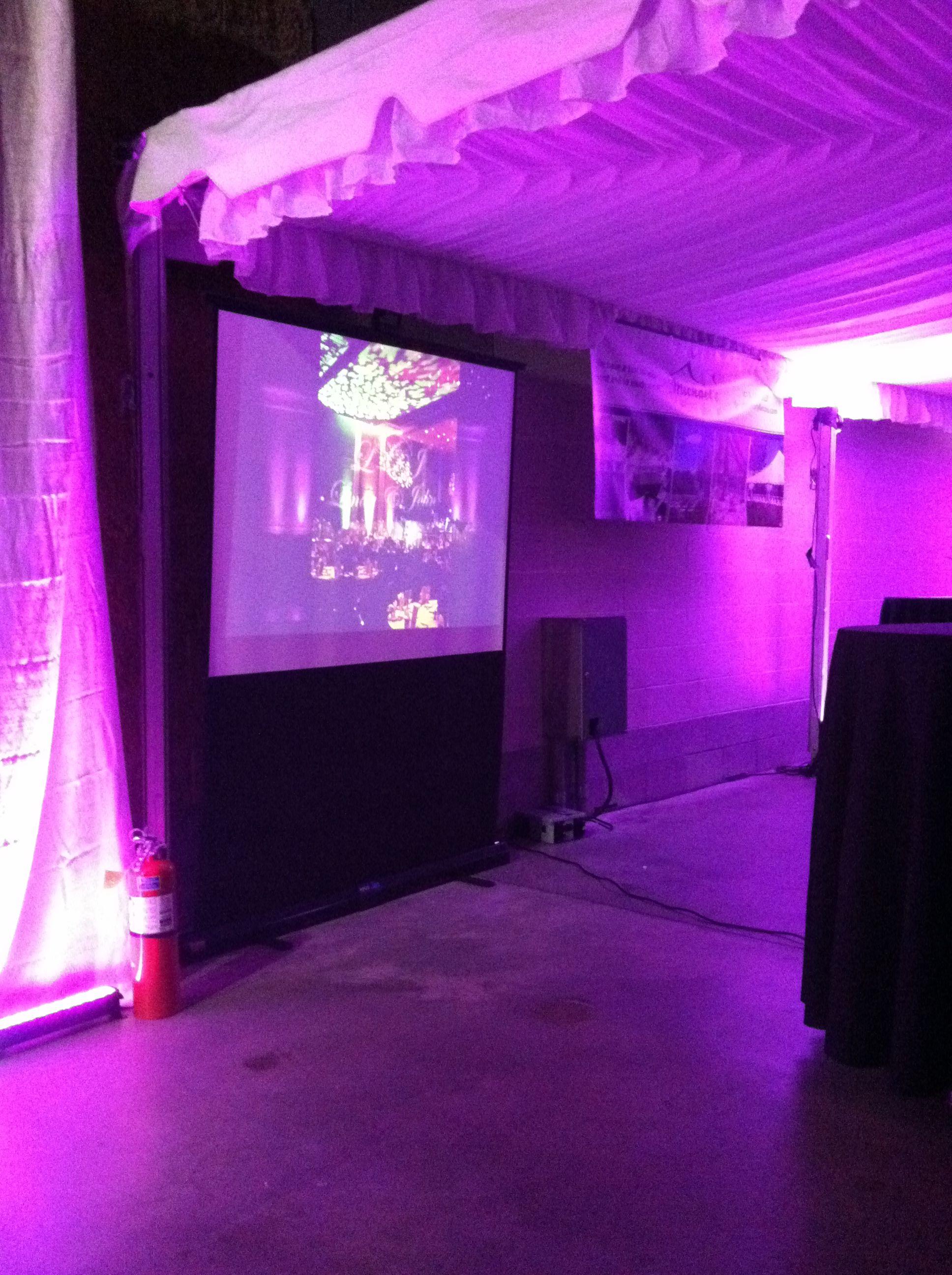 Cjc Event Lighting Bridal Show Pics Wedding Decorations
