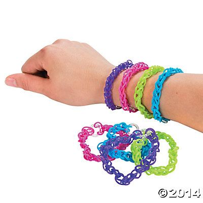 Bright Fun Loops Bracelets