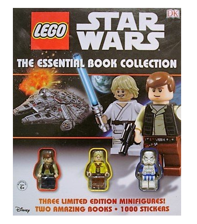 Lego Star Wars the Essential Book Collection: 3 Minifigures, Two ...