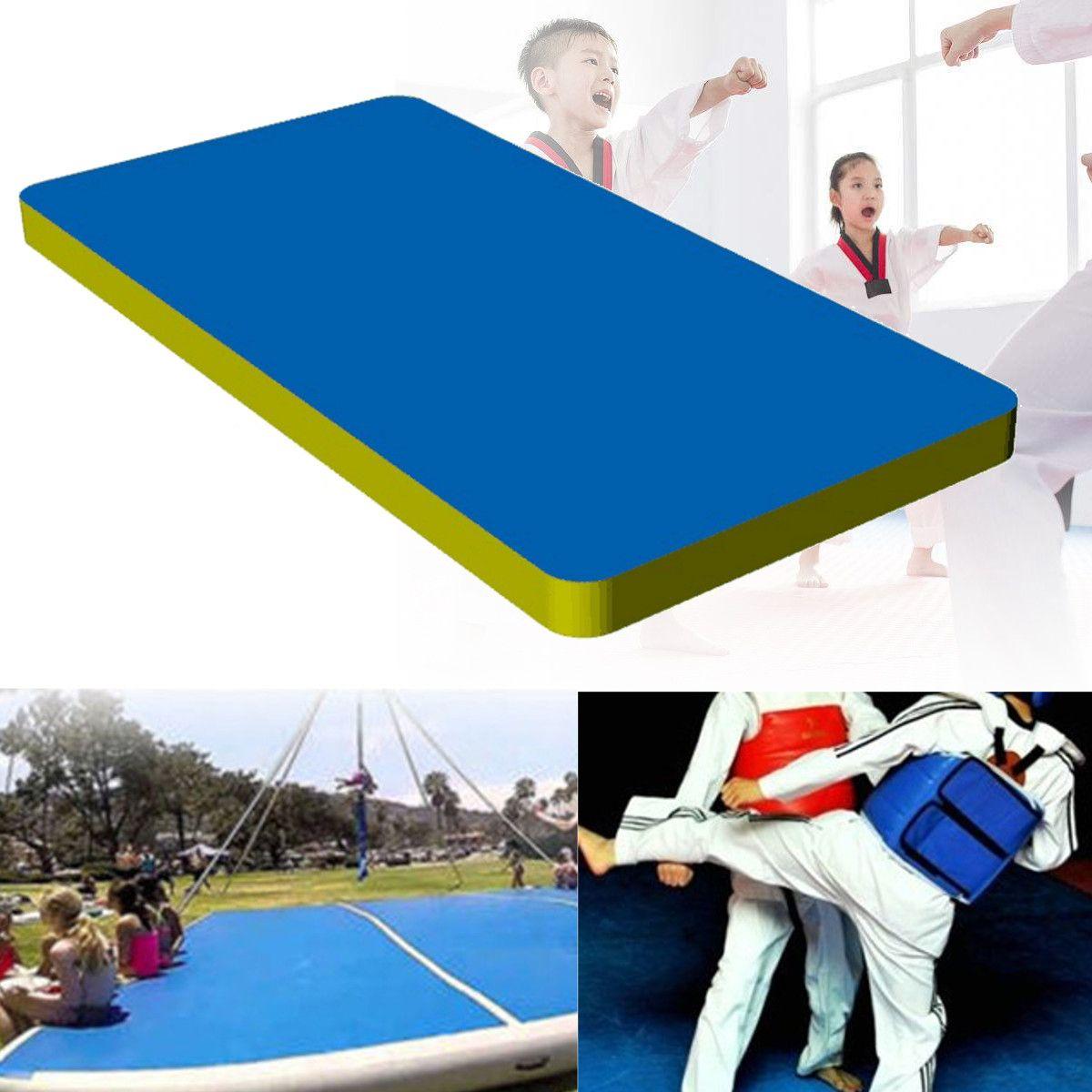 118x35x394 air track inflatable gymnastics mat fitness