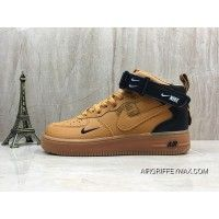 9083b98102e4 Nike Air Force One Af1 High Simplified Ow The Letter Men Women Sneakers SKU  804609-