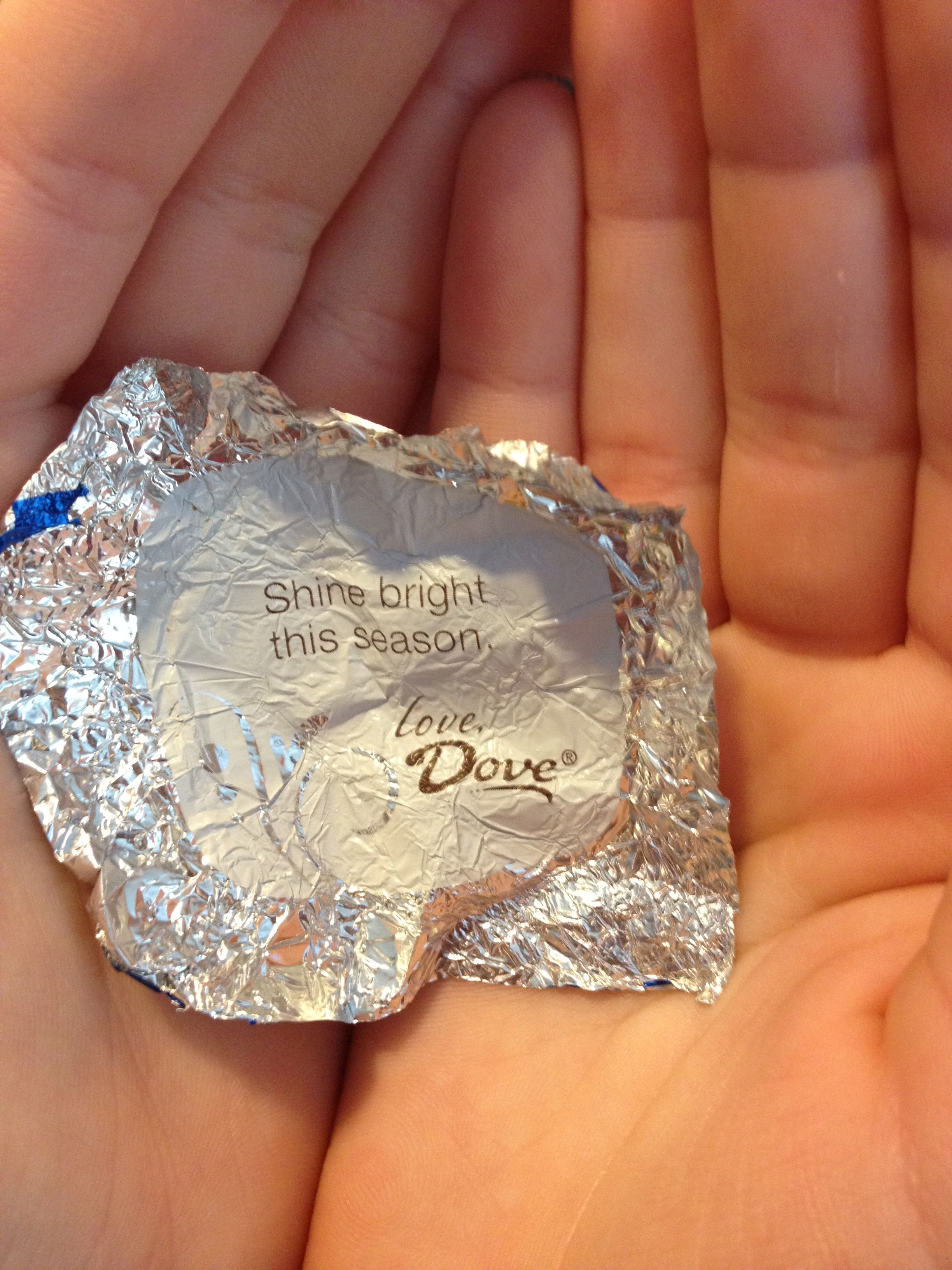 Dove Chocolate Wrapper | Random | Pinterest