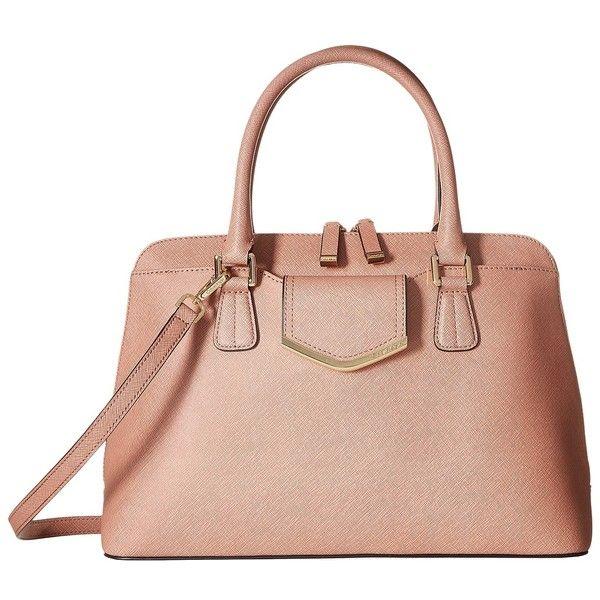 Calvin Klein On My Corner H3GD11RP (Deep Blush) Satchel Handbags ...