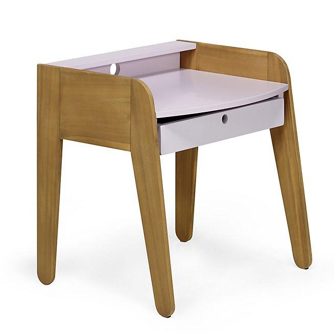 vintage petit bureau vintage rose pour enfant