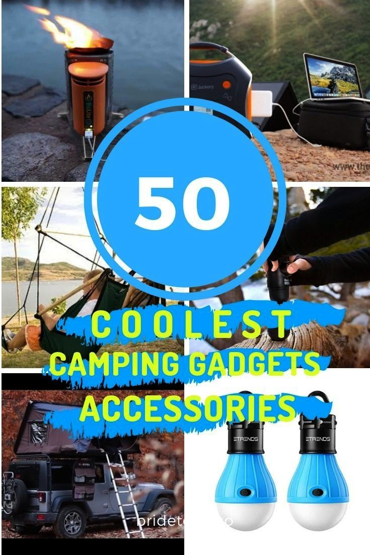 Camping Gadgets -    Are you looking for some cool camping gadgets? If yes, you'll find the best ga
