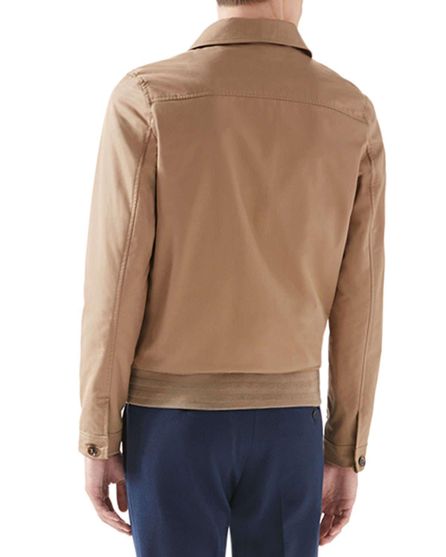 Classic Blouson Jacket, Tan
