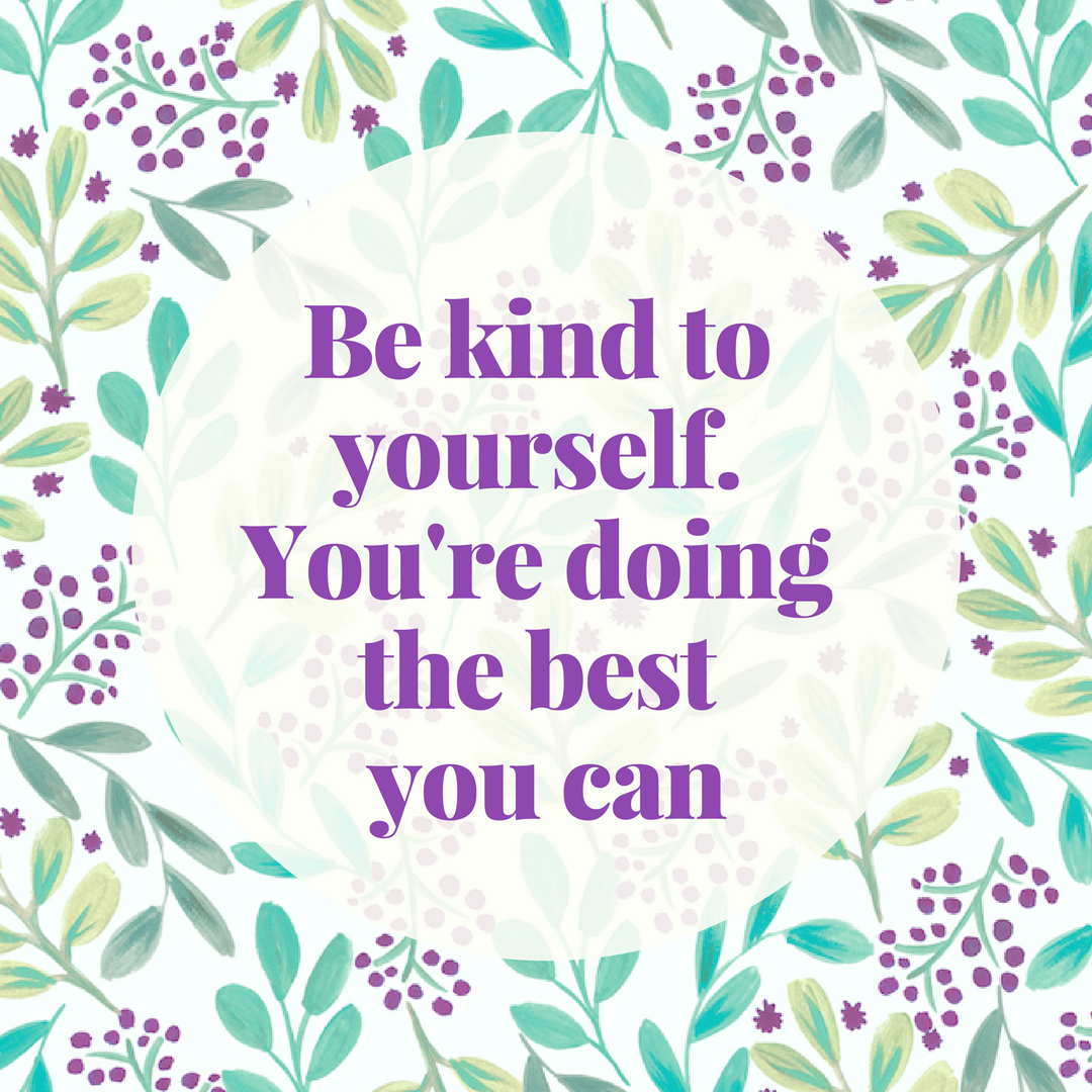 Be kind to yourself. You're doing the best you can. It's so important to  remember not to listen … | Doing your best quotes, Be yourself quotes,  Inspirational quotes
