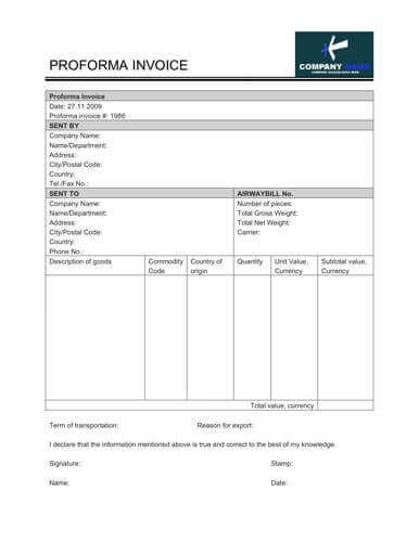 Free Invoice Template By HloomCom  Tenda    Template