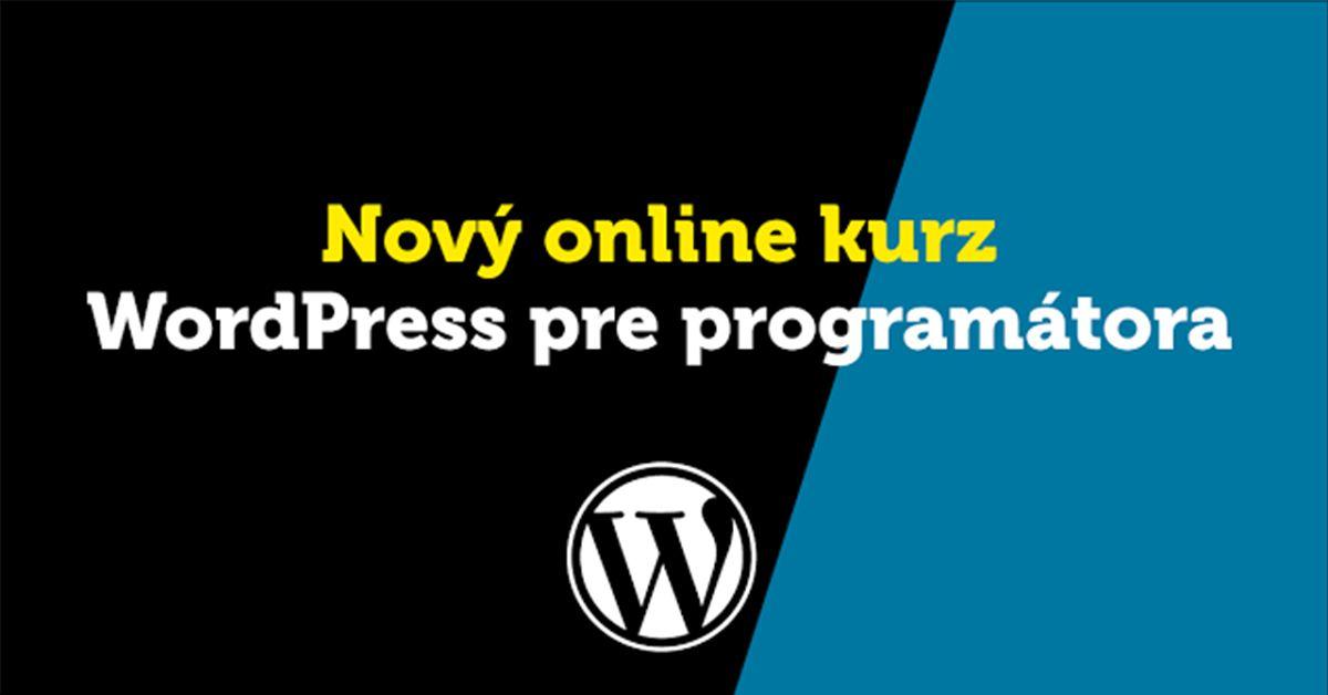 #Wordpress Nauč sa programovať WordPress v nových kurzoch za výhodnú cenu  Slovenské stránky na výučbu programovania ponúkajú kurzy na rôzne témy, no WordPress medzi nimi doteraz chýbal. To sa však mení, pretože learn2code.sk pridáva do svojho portfólia po novom aj... Best Wordpress = http://www.larymdesign.com https://www.mojandroid.sk/programovanie-wordpress-akcia-kurzy/