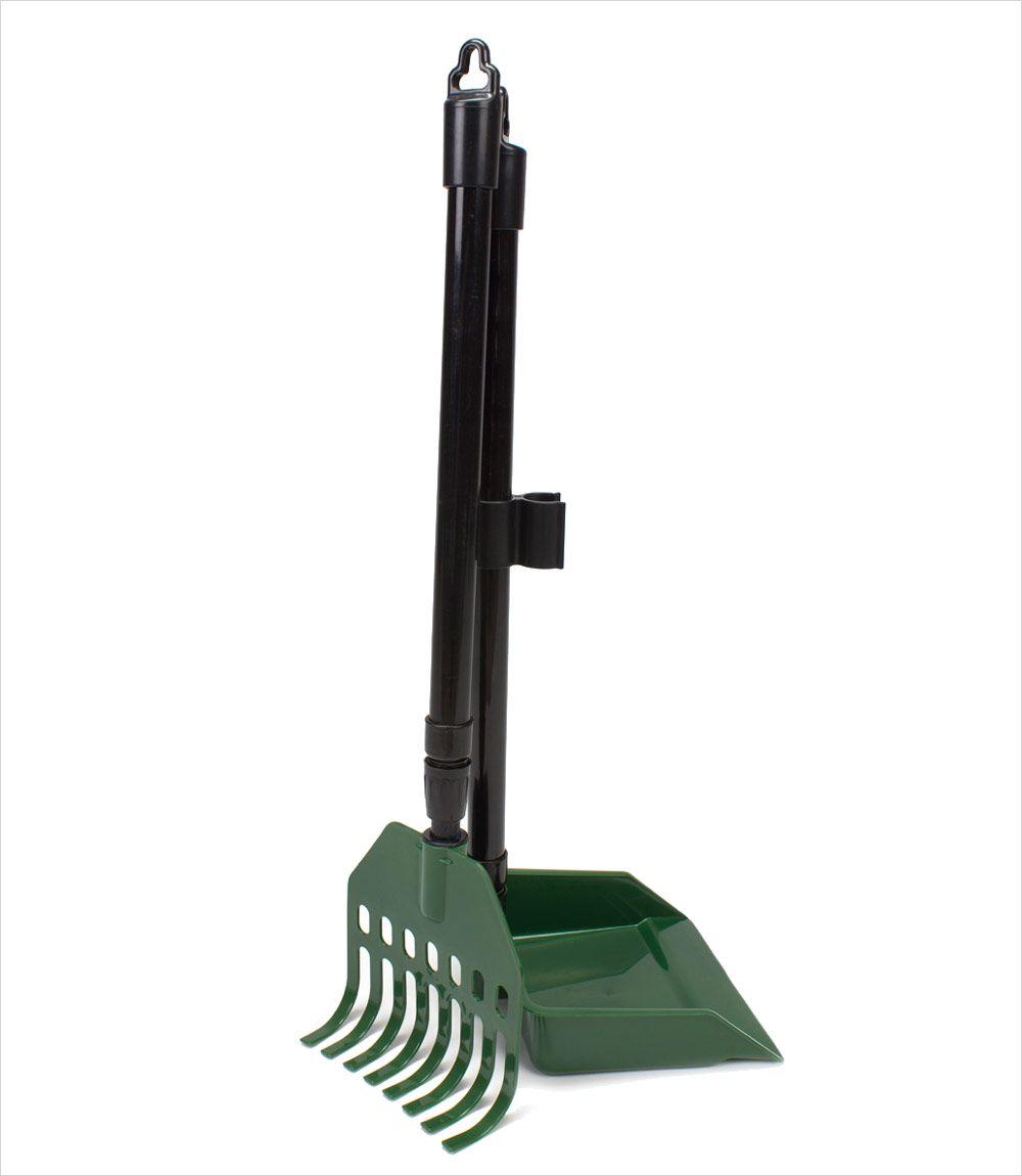 Poop Scoop with Rake - X-Long Handle