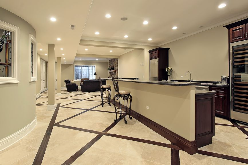 Modern Basement Remodeling Ideas 100's of man cave ideas | mini kitchen, basements and kitchens