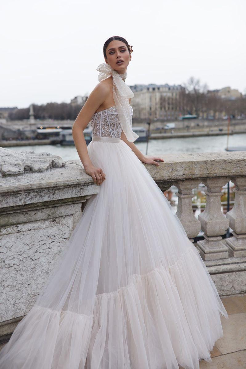 Strapless wedding gown Julie Vino 2019 Wedding Dresses - Paris Collection #weddingdress #weddinggown #bridedress #bridalgown