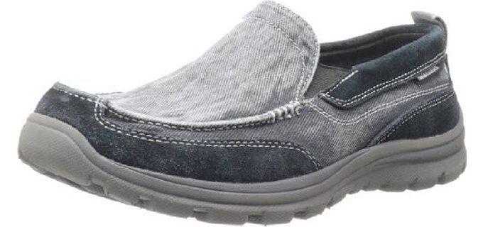 Skechers for Work Men's Exalt Closer Work Shoe