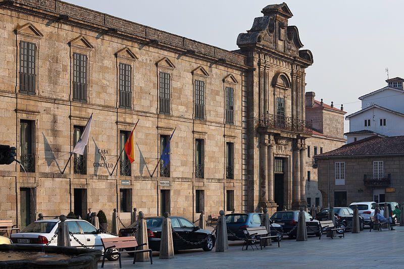 Casa do concello de Celanova