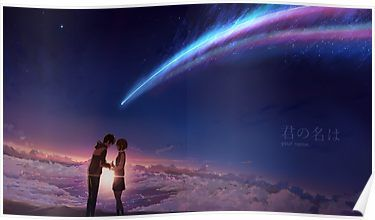 Kimi no na wa (Your Name) Poster