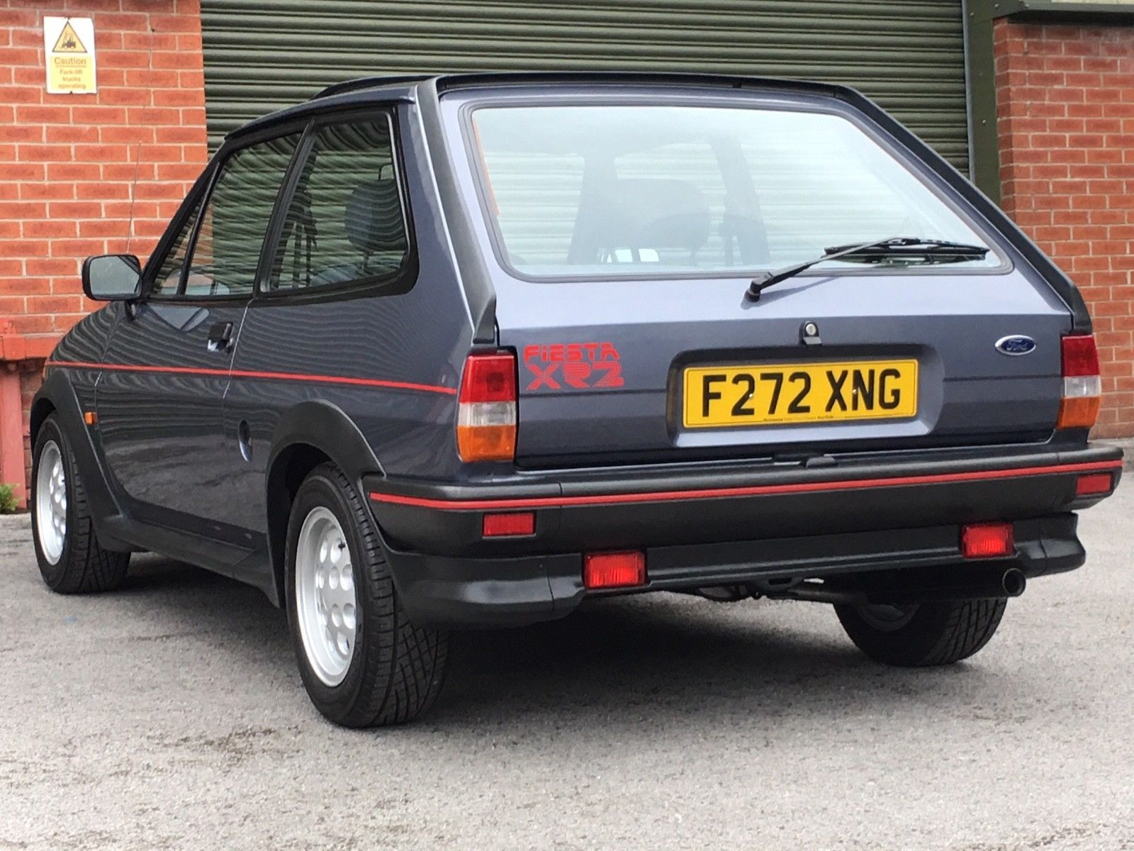 This Ford Fiesta Xr2 Has Had A Full Nut And Bolt Restoration On