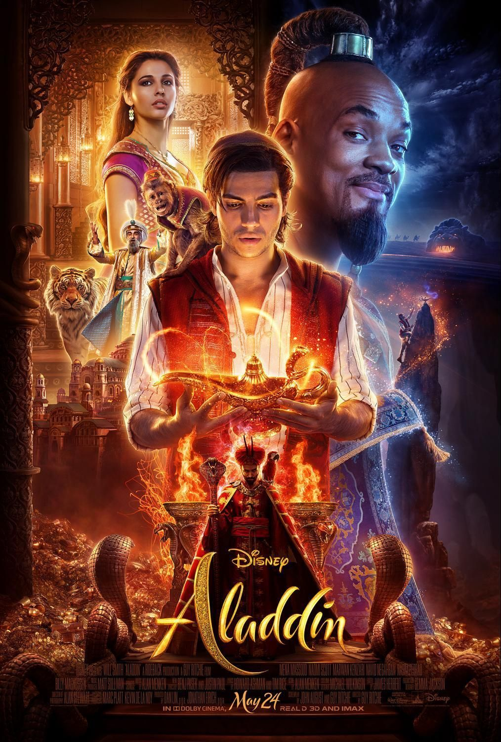 Aladdin is joining the ranks of Disney movies adapted to live action in 2019. Oh the gorgeousness! Will it be too scary for children? Tips to prepare your child.