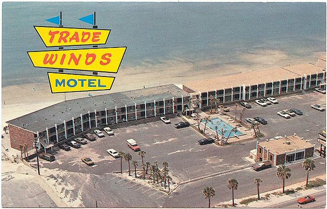 Trade Winds Motel Aerial View Panama City Beach Florida Panama City Beach Motels Panama City Beach Florida Panama City Beach