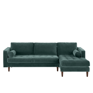 Scott 4 Seater Right Hand Facing Chaise End Corner Sofa ...