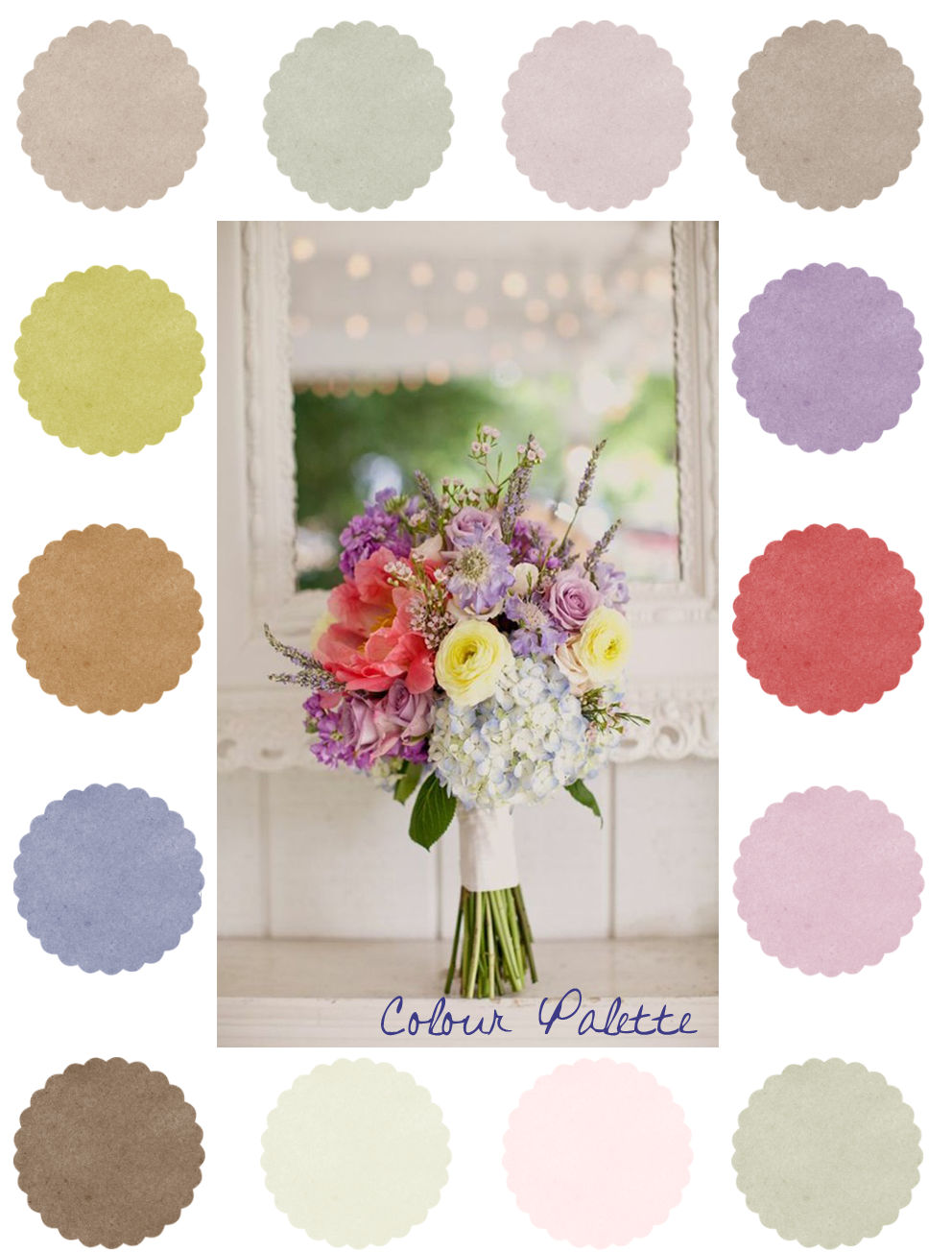 Colour palette  Image is from http://ruffledblog.com/