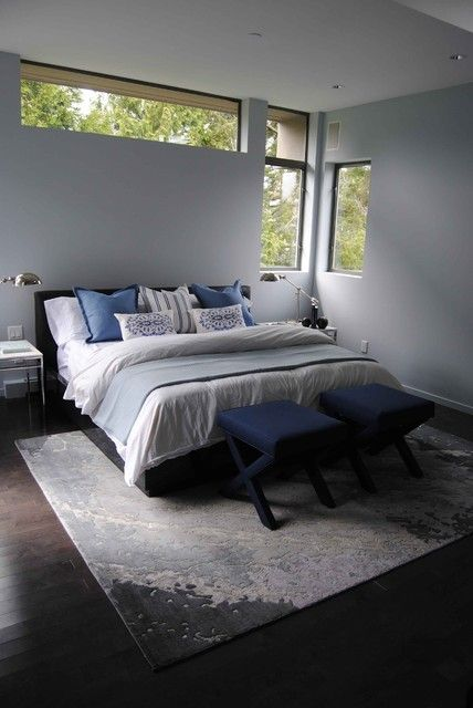 Point Grey Residence modern-bedroom