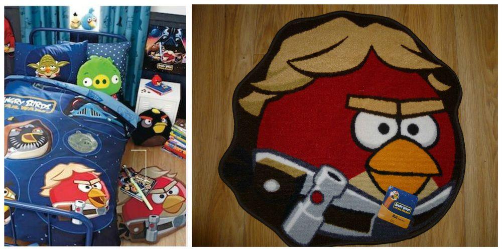 Bnip Next Boys Angry Birds Star Wars Rug Isaac