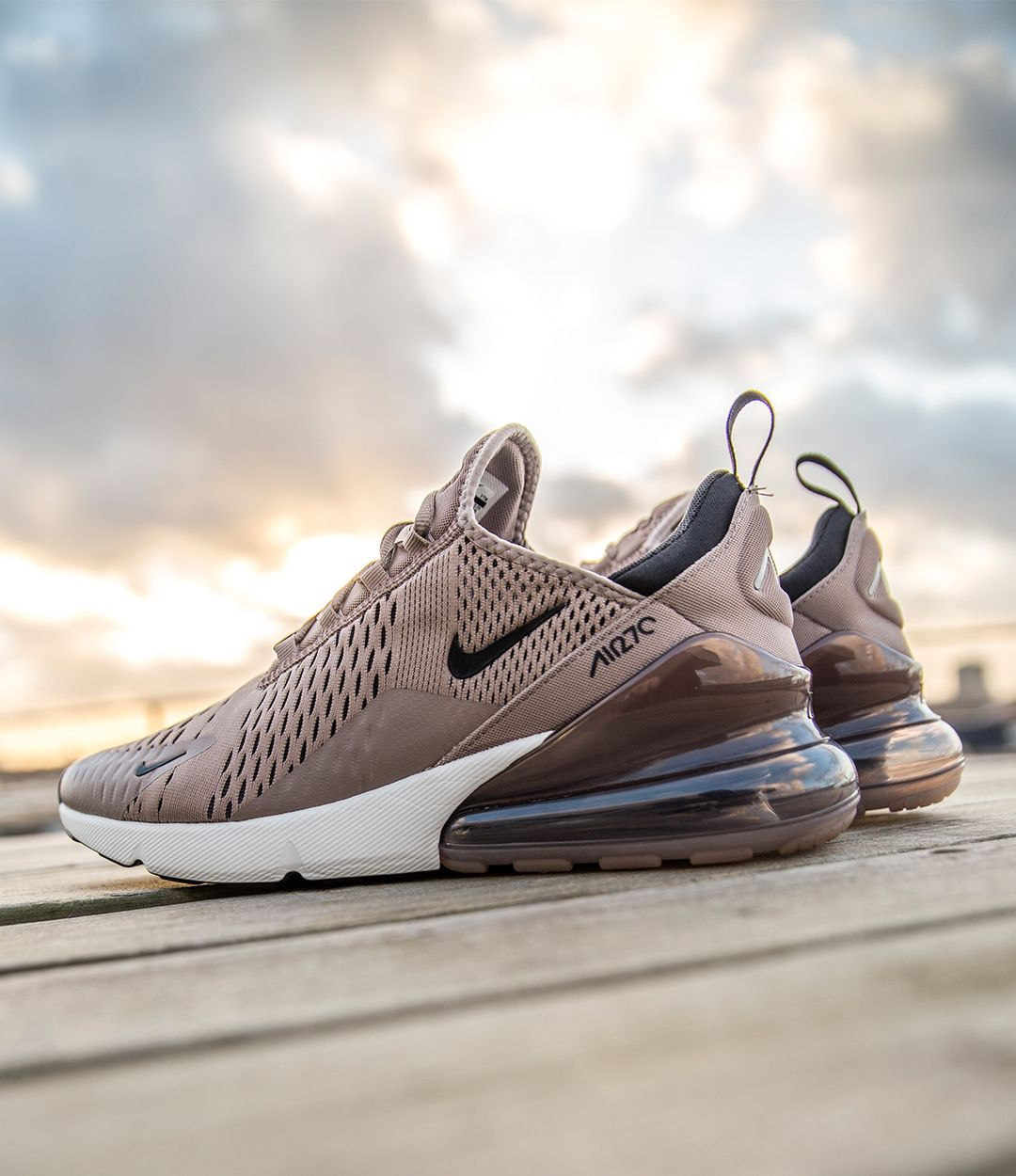 nike air max 270 camel brown