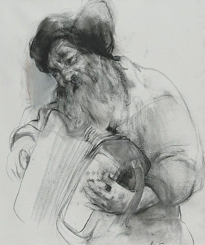 El Dibujo Actual En La Academia Rusa Dibujo De La Vida Dibujos Retratos Como Dibujar Cosas