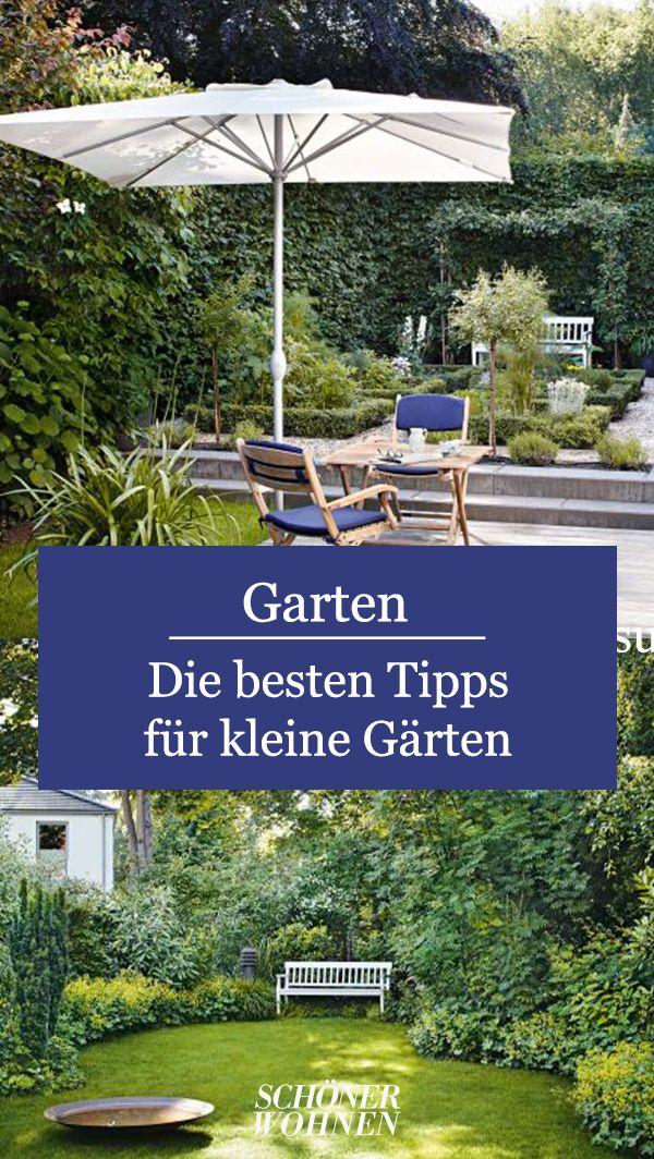 Kleinen Garten gestalten - urban, modern, naturnah