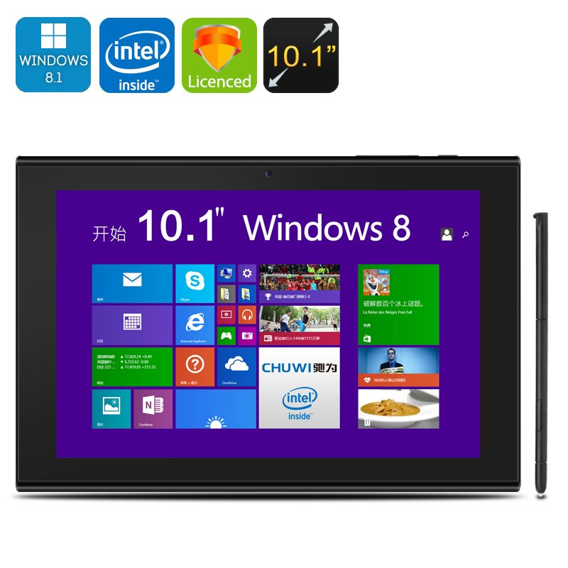 Read, Play, Watch And So Much More On The Large Inch CHUWI EBook Stylus  Tablet With Windows Bing OS