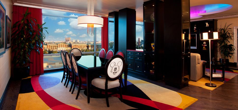 Mickey Suite Disneyland Hotel Signature Suites Mouse